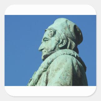 Carl Friedrich Gauß (Gauss), Braunschweig Square Sticker