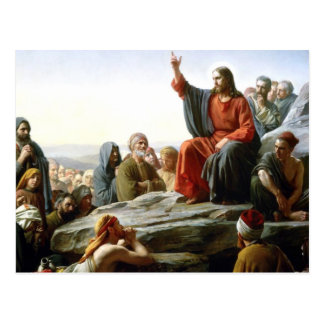 Carl Heinrich Bloch - Sermon on the Mount Postcard