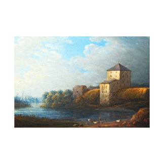 Carl Johan Fahlcrantz Nyköping Castle Canvas Print