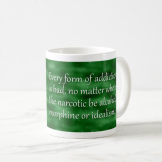 Carl Jung Addiction Quote Coffee Mug