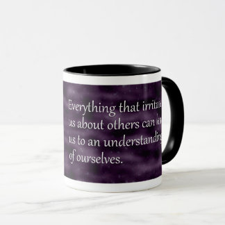 Carl Jung Understanding Ourselves Quote Mug