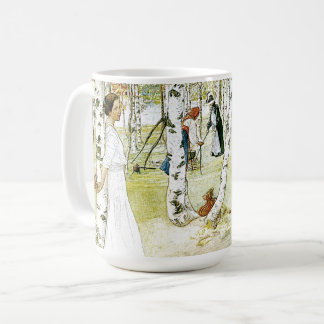 Carl Larsson Breakfast In The Open Mug