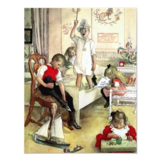 Carl Larsson Christmas Morning Card