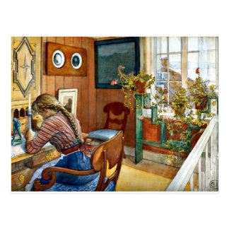 Carl Larsson - Correspondence Post Card