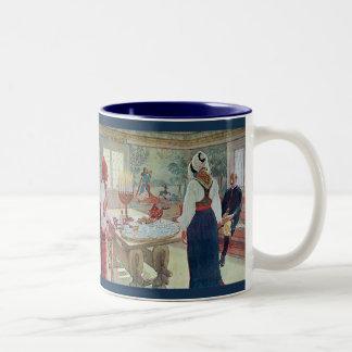 Carl Larsson  En Bergman Stuga Swedish Fine Art Two-Tone Coffee Mug