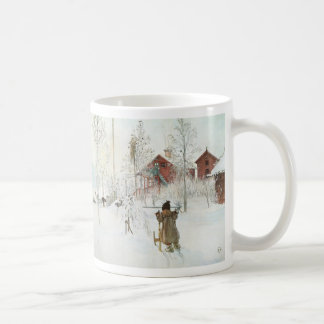Carl Larsson  Front Yard and the Wash House Coffee Mug