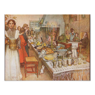 Carl Larsson Scandinavian Christmas Eve Card