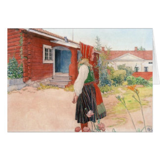 Carl Larsson The Falun Home Card