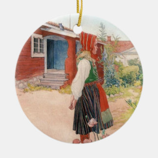 Carl Larsson - The Falun Home Christmas Tree Ornaments
