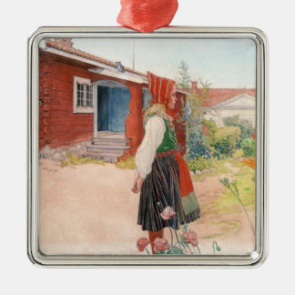 Carl Larsson  The Falun Home Metal Ornament