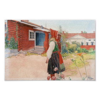 Carl Larsson  The Falun Home Poster