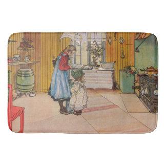 Carl Larsson The Kitchen Bath Mat