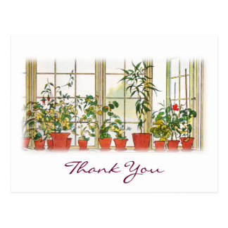 Carl Larsson's Thank You Postcard