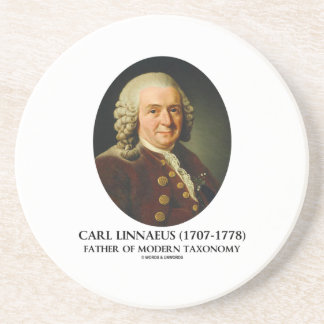 Carl Linnaeus Father Of Modern Taxonomy Drink Coasters