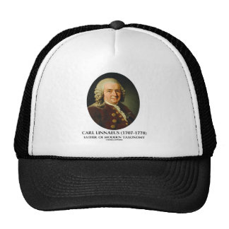 Carl Linnaeus Father Of Modern Taxonomy Hats