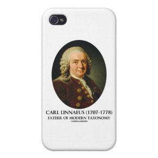Carl Linnaeus Father Of Modern Taxonomy iPhone 4/4S Cases