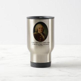 Carl Linnaeus Father Of Modern Taxonomy 15 Oz Stainless Steel Travel Mug