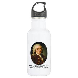 Carl Linnaeus Father Of Modern Taxonomy 18oz Water Bottle