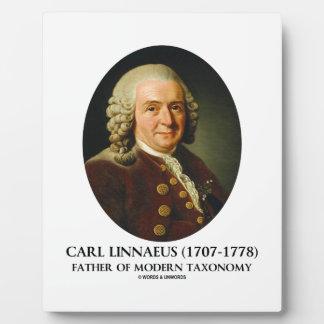 Carl Linnaeus Father Of Modern Taxonomy Plaque