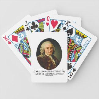 Carl Linnaeus Father Of Modern Taxonomy Bicycle Card Decks