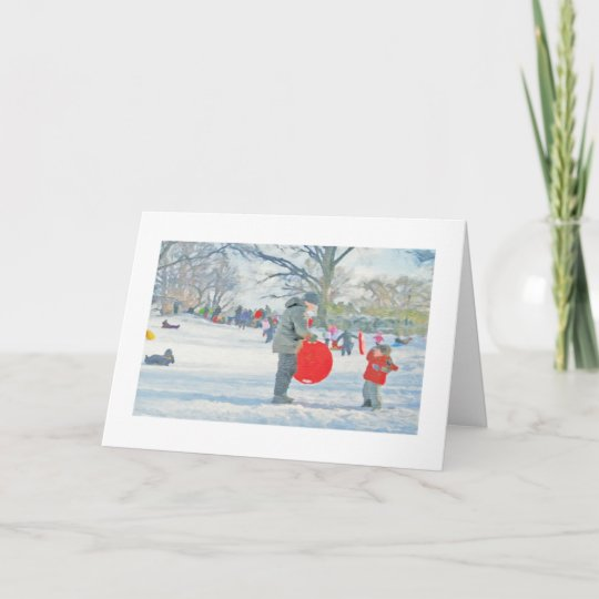 Carl Schurz Park, New York City Christmas Card