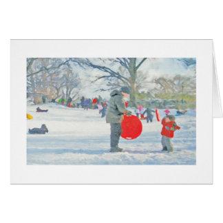 Carl Schurz Park, New York City Christmas Card