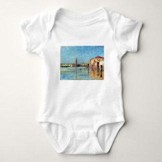 Carl Skånberg Doge's Palace Venetian Canal Scene Baby Bodysuit