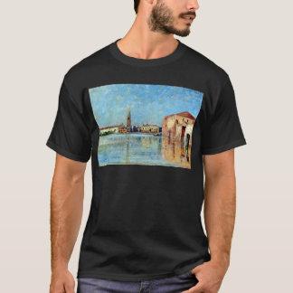 Carl Skånberg Doge's Palace Venetian Canal Scene T-Shirt