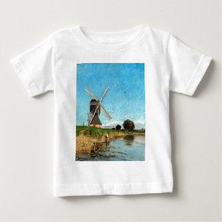 Carl Skånberg Landscape with Windmill Baby T-Shirt