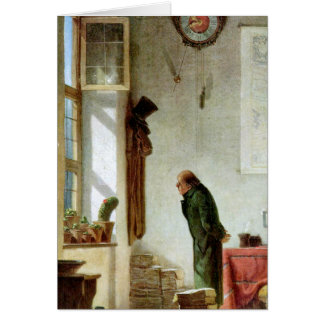 Carl Spitzweg - The Cactus Enthusiast Card