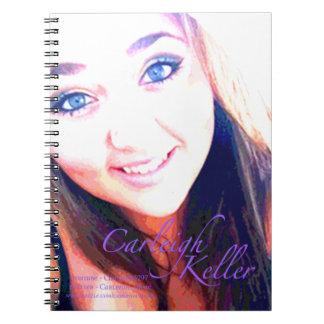 Carleigh's Krewe Photo notebook