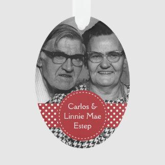 Carlos and Linnie Mae Estep Psalm 103:17 Ornament