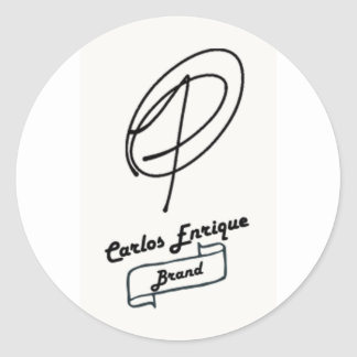 Carlos Enrique Brand Logo Sticker