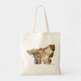 Carlos Machado's Nerves & Vessels of Cranial Base Tote Bag