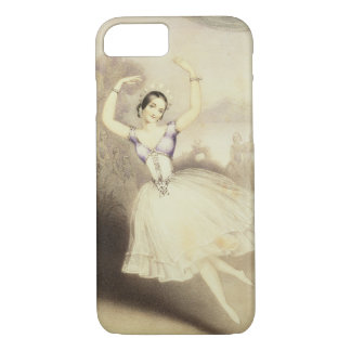 Carlotta Grisi (1819-99) in the Ballet of the Peri iPhone 7 Case