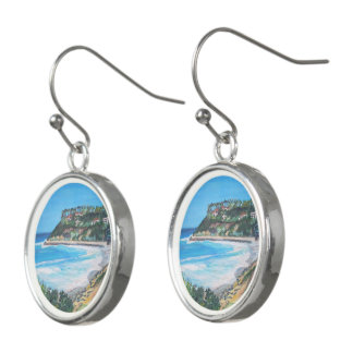 Carlsbad Beach, Drop Earrings