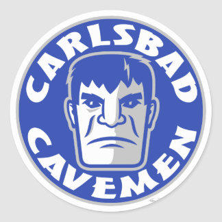 Carlsbad Cavemen Sticker
