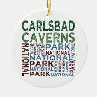 Carlsbad Caverns National Park Ceramic Ornament