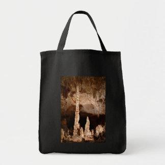 Carlsbad Caverns - Totem Pole Grocery Tote Bag