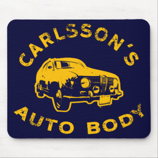carlsson-auto-body_gold mouse pad