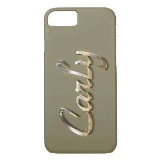 """Carly"" Custom Monogram iPhone 7 Case"