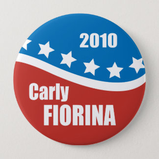 Carly Fiorina 2010 10 Cm Round Badge