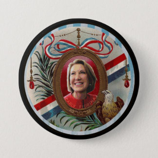 Carly Fiorina 2016 7.5 Cm Round Badge