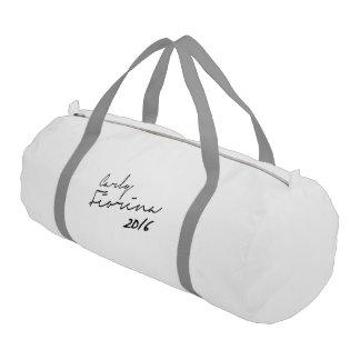 Carly Fiorina Autograph 2016 Gym Duffel Bag