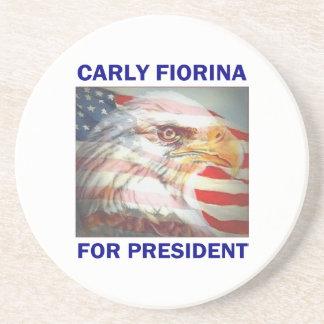 Carly Fiorina for President 2016 Coaster