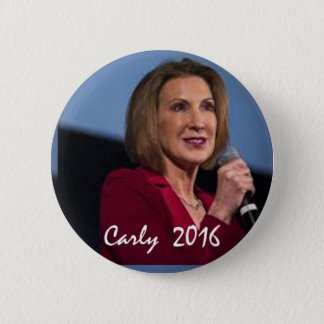 Carly Fiorina for President 6 Cm Round Badge