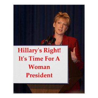 carly fiorina poster