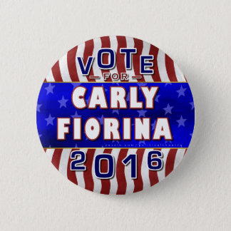 Carly Fiorina President 2016 Election Republican 6 Cm Round Badge