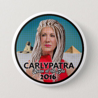 Carly Fiorina: Queen of the Bile 7.5 Cm Round Badge