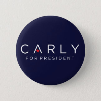 Carly for President Button